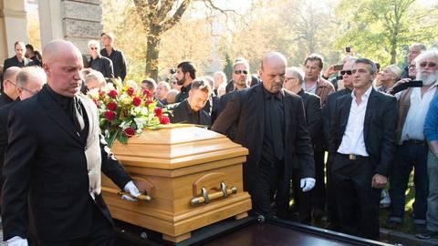 Rocchigiani-Beerdigung: Ein letzter Applaus zum Abschied