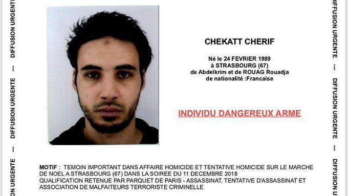 Terroranschlag in Straßburg: Chekatt erhielt vor Tat Anruf aus Deutschland