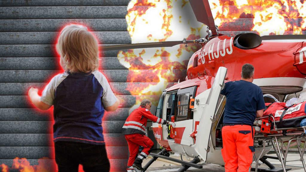 Wetzlar: Mädchen (2) spielt vor Metalltor – dann passiert das Schlimmste